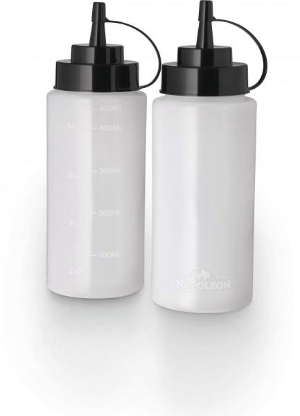 2er Set Kunststoff-Quetschflasche, klein