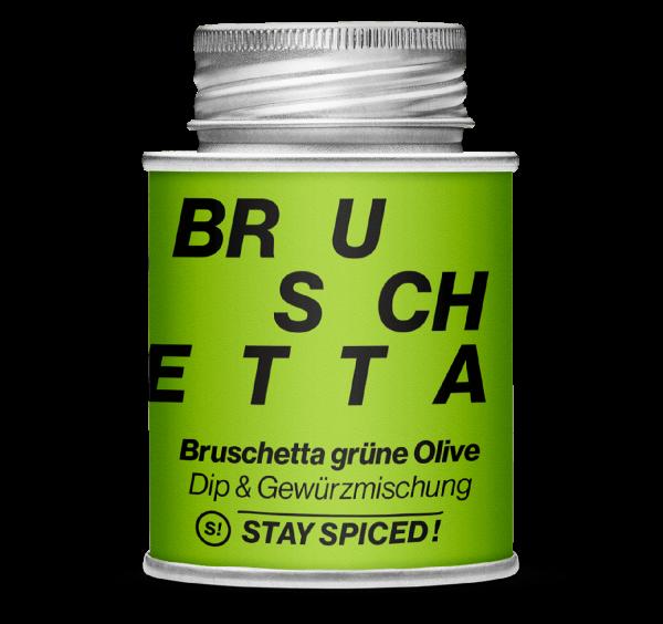 Gewürz Bruschetta grüne Olive