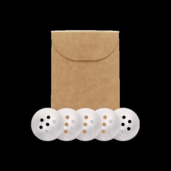 Streueinsatz 5Stk. Packung für 170ml Schraubdose (SpiceWorld)