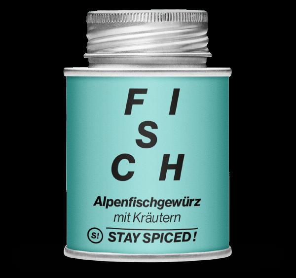 Gewürz Alpenfischgewürz mit Kräutern