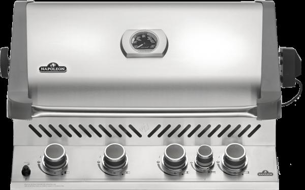 Prestige Pro™ 500, Edelstahl, Einbau, Erdgas, inkl. Rotisserie