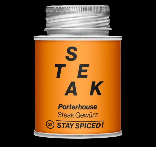 Gewürz Porterhouse Steak Gewürzzubereitung