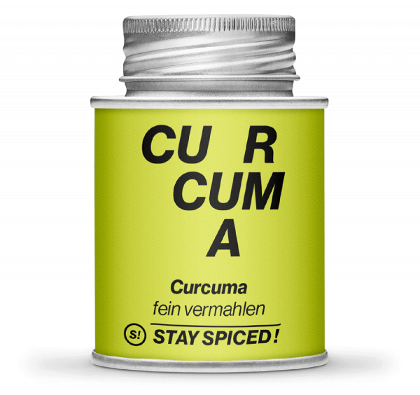 Gewürz Curcuma - Gelbwurz - gemahlen