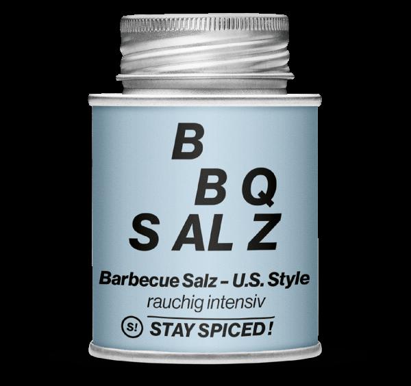 Gewürz US-Style BBQ Salz, rauchig intensiv